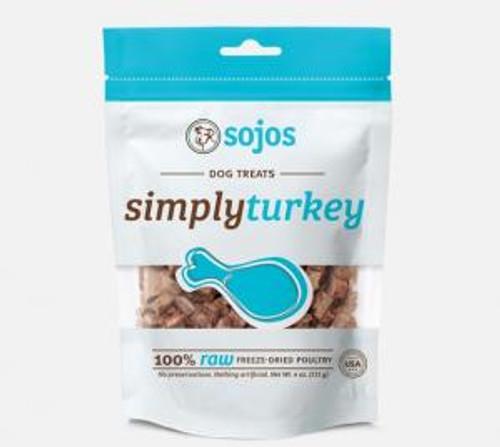 Sojo Simply Turkey Dog Treats, 4oz