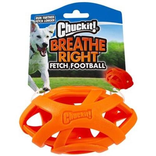 Chuckit! Breathe Right Football Dog Toy