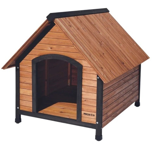 Precision Pet Wooden Country Lodge Dog House