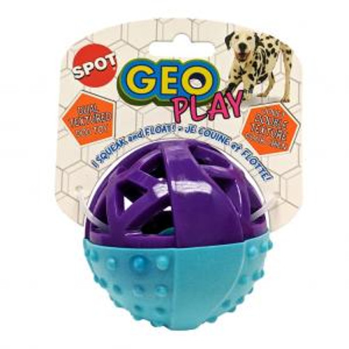Ethical Pet Geo Play Dual Texture Ball