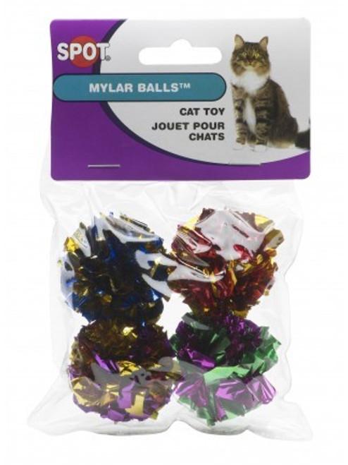 Ethical Pet Mylar Balls, 4-Pack