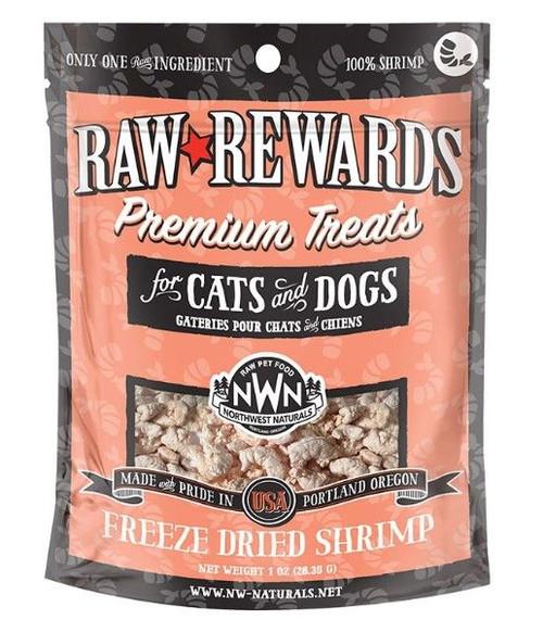 Northwest Naturals Raw Freeze-Dried Shrimp Treats, 1oz