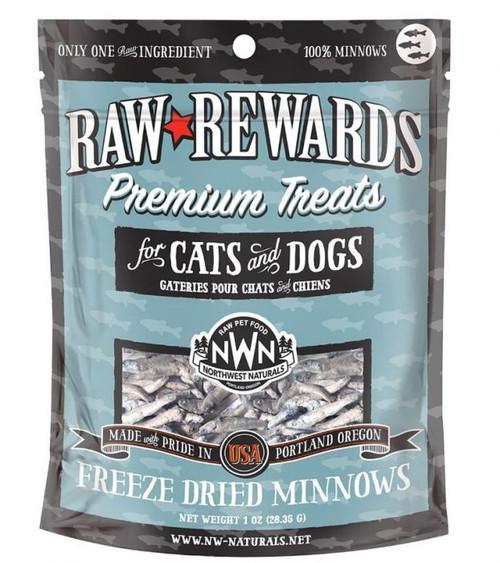 Northwest Naturals Raw Freeze-Dried Minnow Treats, 1oz