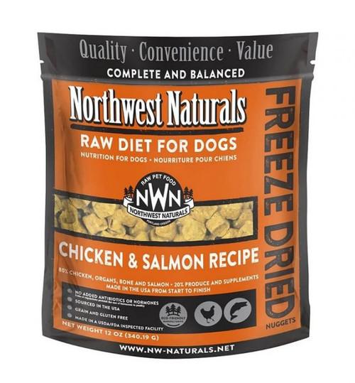 Northwest Naturals Raw Freeze-Dried Chicken/Salmon Nuggets, 12oz
