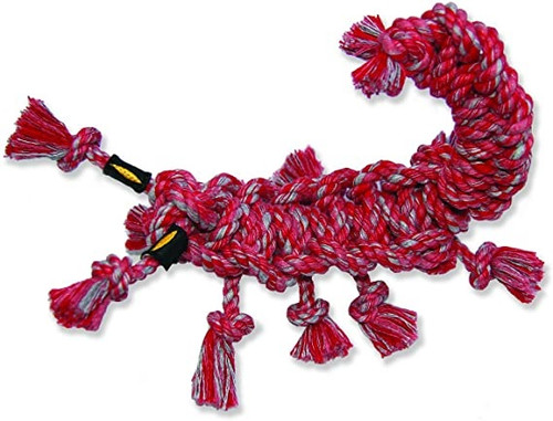 Mammoth Snakebiter Rope Dog Toy Scorpion