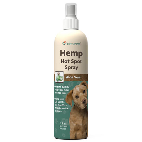 NaturVet Hemp Hot Spot Spray, 12oz