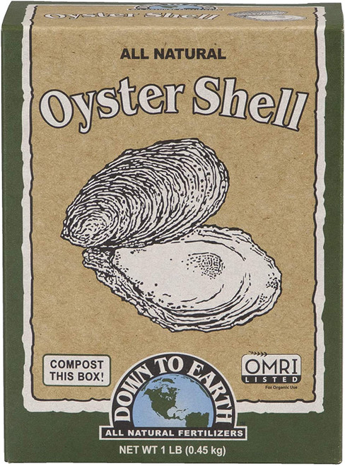 Down to Earth Oyster Shell Fertilizer