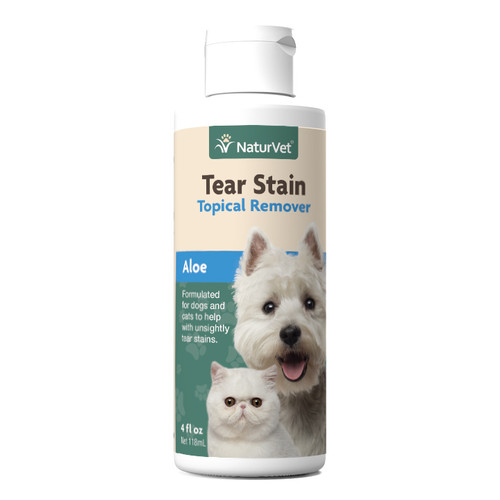 NaturVet Tear Stain Remover With Aloe, 4oz