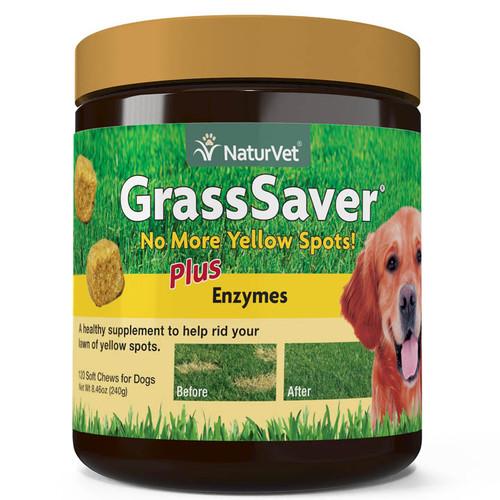 NaturVet GrassSaver Soft Chews, 120ct