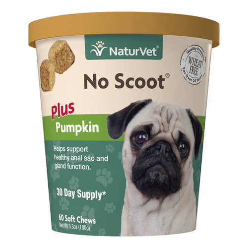 NutraVet No Scoot Soft Chews, 60ct
