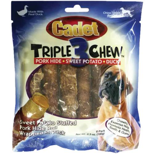 Cadet Triple Chew Pork, Sweet Potato, and Duck