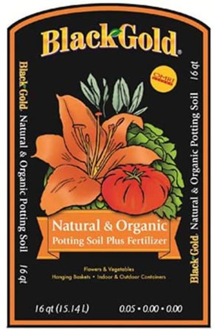 Black Gold Natural & Organic Potting Soil