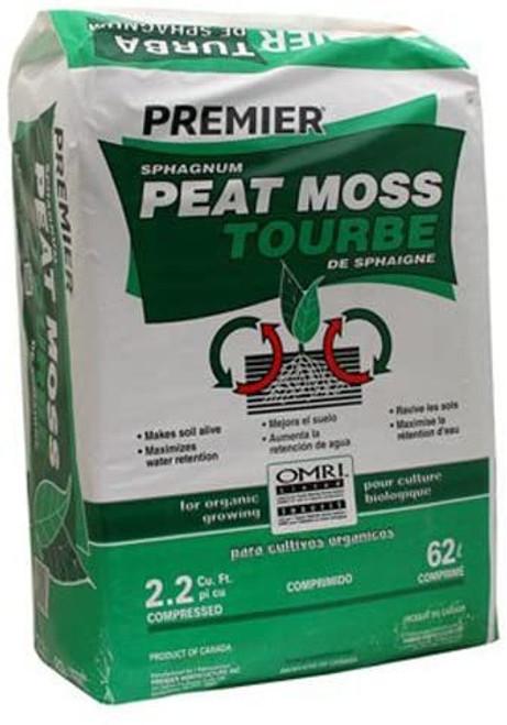 Pro Mix Peat Moss, 2.2cf