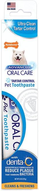 Nylabone Advanced Oral Care Tartar Control Dog Toothpaste, 2.5oz