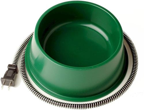1QT Heated Bowl Green
