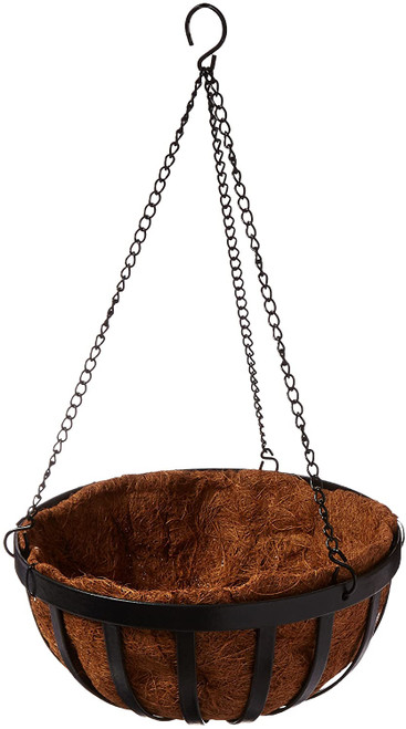 Gardman Forge Hanging Basket with Coco Liner