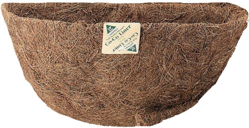 Gardman Basket Shaped Coco Liner, 16 Inch