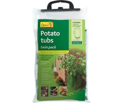 Gardman Potato Tug, Green, 2pc