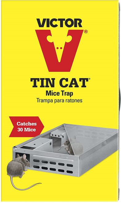 Victor M310S Tin Cat Live Mouse Trap