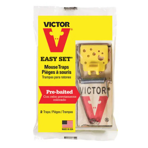 Victor Easy Set Mouse Trap, 2pk