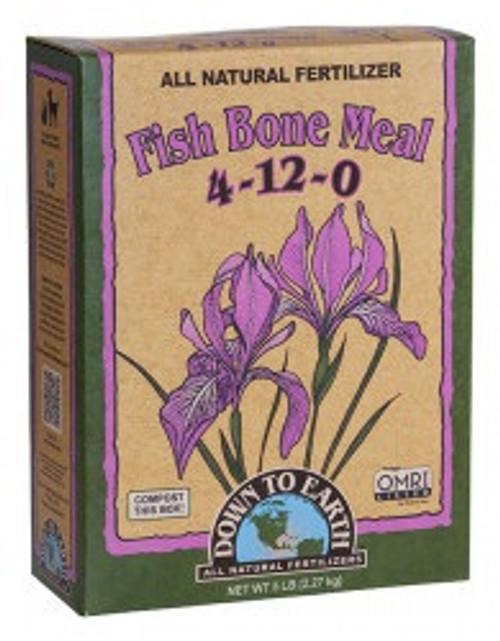 Down To Earth Fish Bone Meal 4-12-0