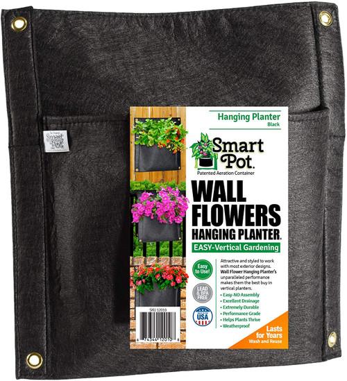 Smart Pots Wall Flower Hanging Planter