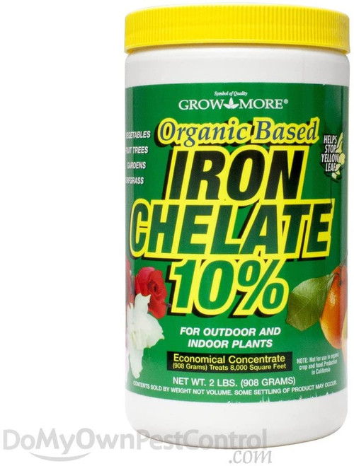 Grow More Iron Chelate 10% 3-0-1, 24oz