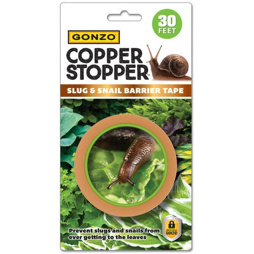 Gonzo Copper Stopper Slug Snail Copper Tape, 30 FT
