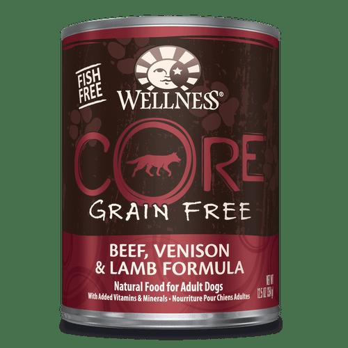 Wellness Core Beef, Venison & Lamb, 12.5oz