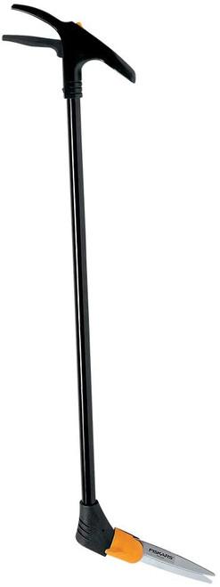 Fiskars 36 Inch Long-Handle Swivel Rotating Grass Shears, Black/Orange