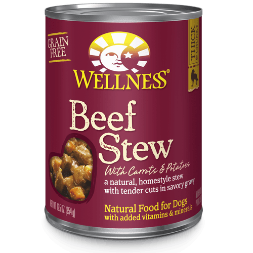 Wellness Homestyle Stew Beef with Carrots and Potatoes, 12.5oz