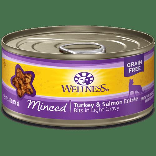 Wellness Complete Health Minced Turkey & Salmon, 5.5oz