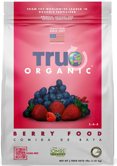 True Organic Berry & Fruit Plant Food, 4lb