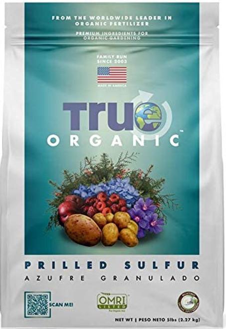 True Organic Prilled Sulfur, 4lb
