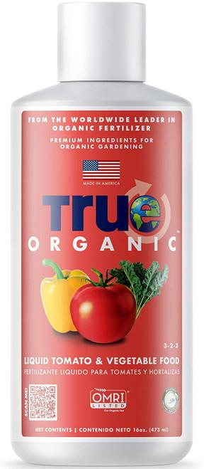 True Organic  Liquid Tomato & Vegetable Food, 16oz