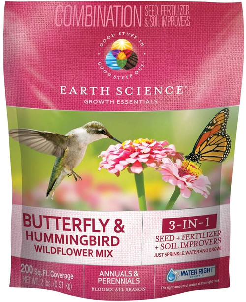 Earth Science Wildflower Butterfly & Hummingbird Mix, 2lb