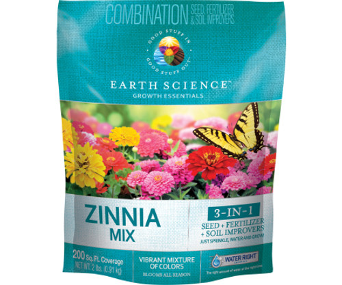 Earth Science Zinnia Mix, 2 LB