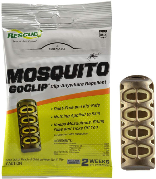 Rescue Mosquito GoClip Repellent