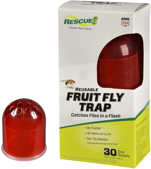 Rescue Indoor Reusable Fruit Fly Trap