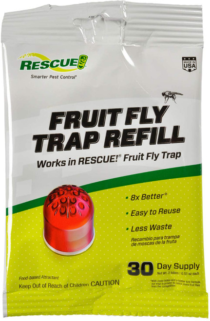 Rescue Fruit Fly Trap Attractant Refill
