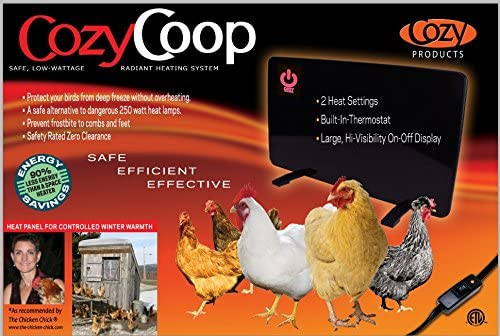 Cozy Products Cozy Safe Chicken Coop Heater 200 Watts