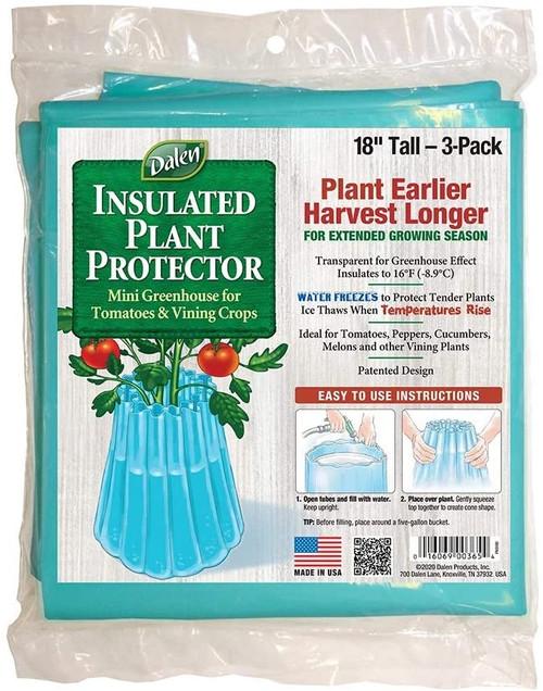 Dalen Gardeneer Season Starter Plant Protectors for Gardens, 3 pk
