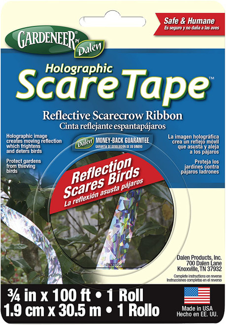 Dalen Holographic Scare Reflective Tape Bird Deterrent Tape