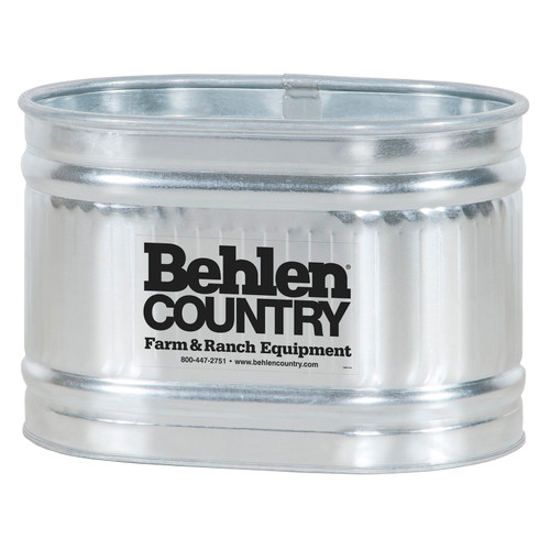 Behlen Galvanized Stock Tank  72 gallon, RE223