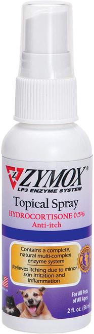 Zymox Spray with Hydrocortisone 0.5% , 2oz