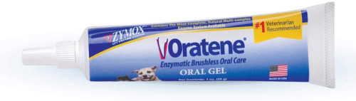 Zymox Oratene Brushless Oral Gel for Dogs and Cats, 1oz
