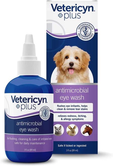 Vetericyn Plus All Animal Eye Wash, 3oz