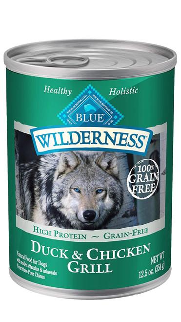 Blue Wilderness Duck & Chicken, 12.5z