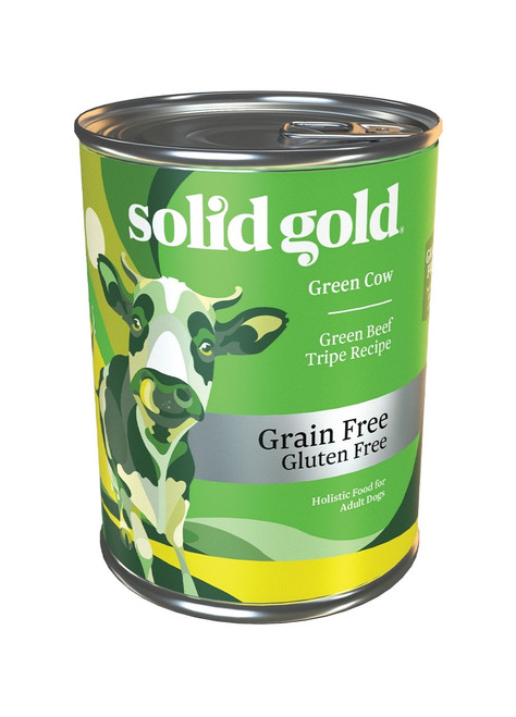 Solid Gold Green Cow Sensitive Stomach Beef Tripe, 13.2oz