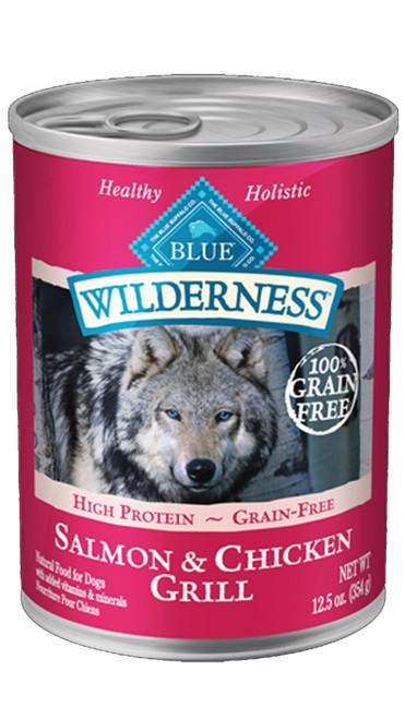 Blue Wilderness Salmon & Chicken, 12.5z